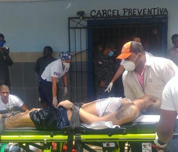 Motín deja un muerto y varios heridos en cárcel preventiva de La Romana