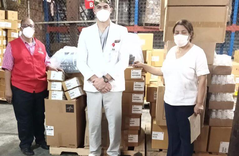 Hospital Gautier recibe insumos médicos donados por la Orden de Malta