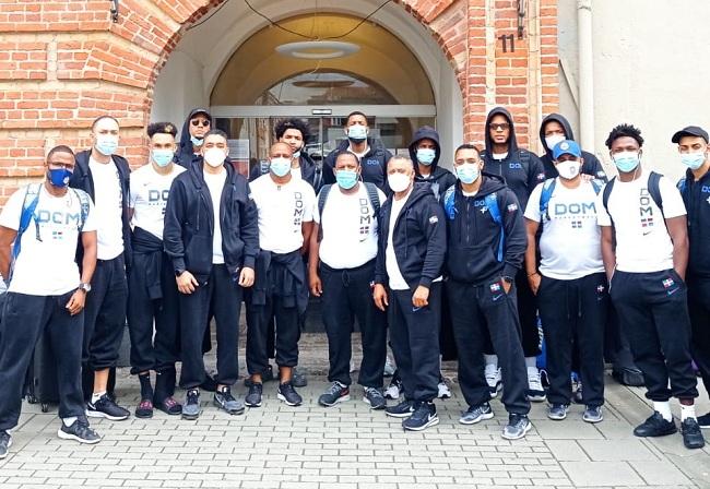 Selección basket RD llega a Lituania para base entrenamientos previo Repechaje Olímpico